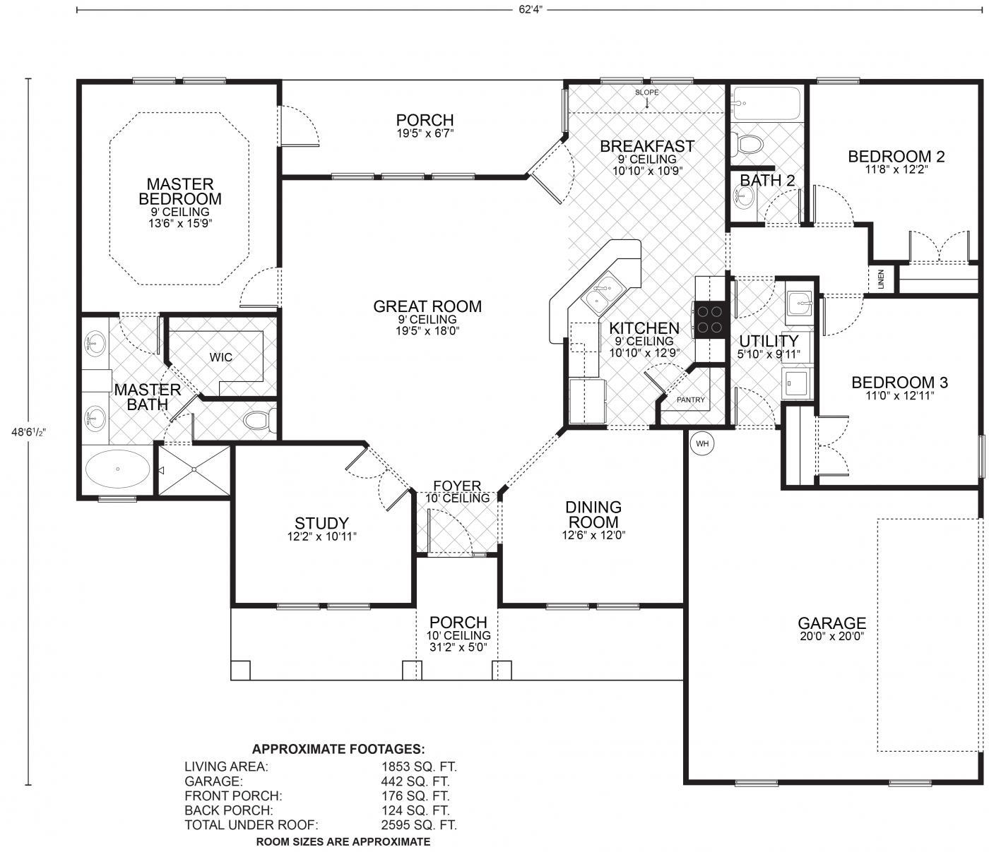 19 durango floor plans southwest homes plan 2335 for Southwest homes floor plans