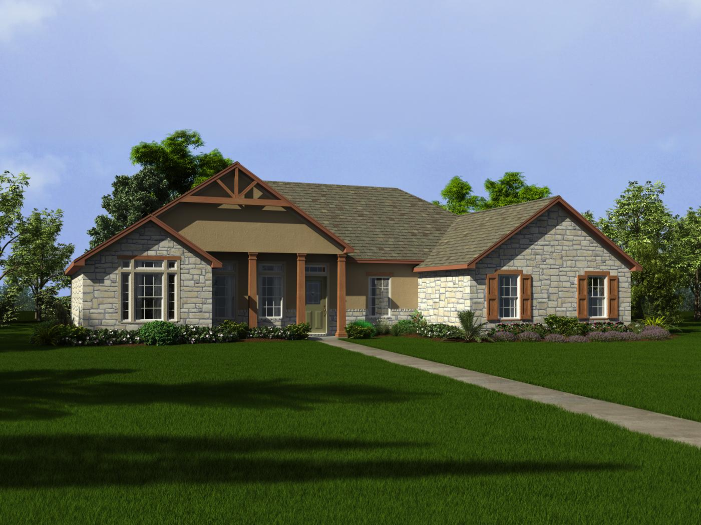 South Texas Custom Home Plans House Design Plans