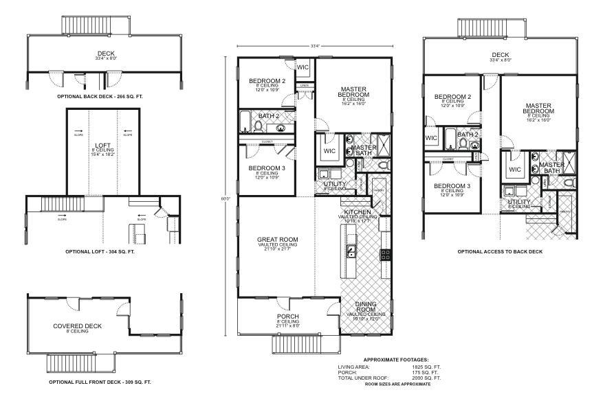 Lakeside b o p floor plans southwest homes for Lakeside floor plan