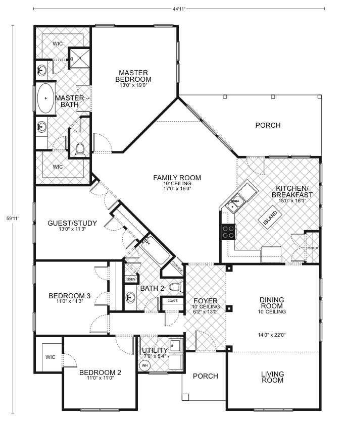 Guadalupe Floor Plans Southwest Homes