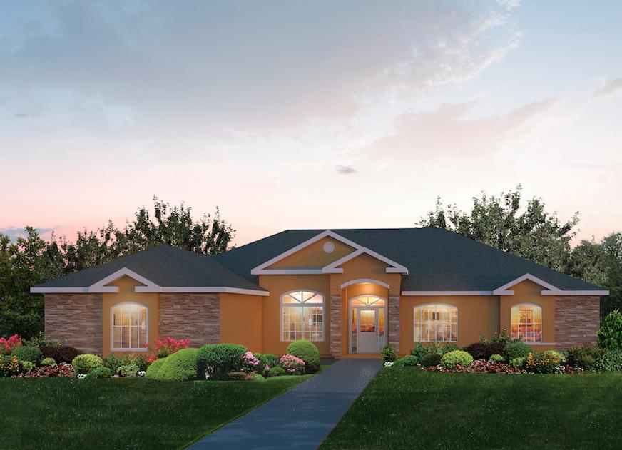 Lockhart a floor plans southwest homes for Southwest homes com