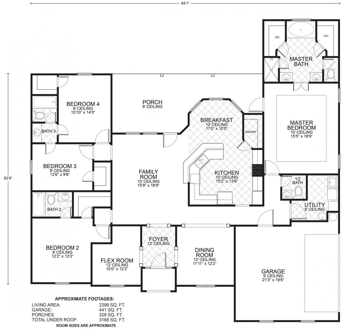 Lafayette Floor Plans Southwest Homes