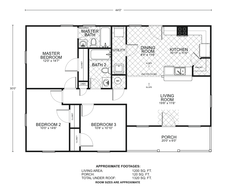 Homestead floor plans southwest homes Homestead layout plans
