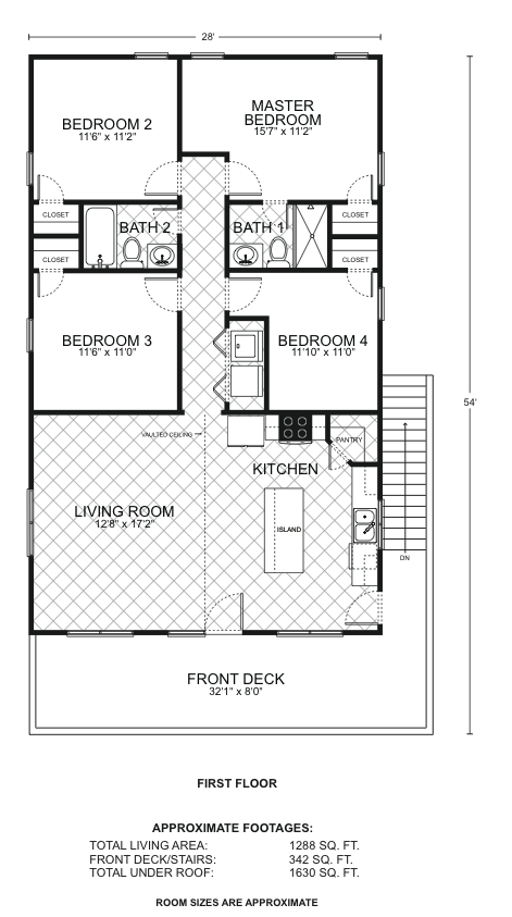 Edgewater a o p floor plans southwest homes for Southwest homes floor plans