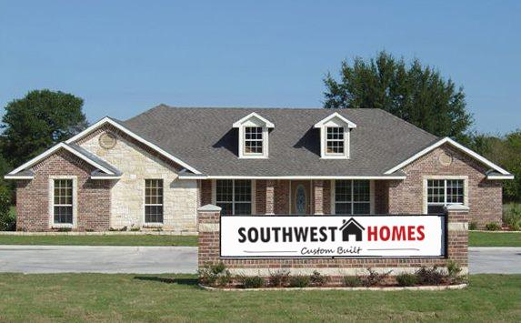 Southwest homes of canton custom homes in wills point tx for Southwest home builders