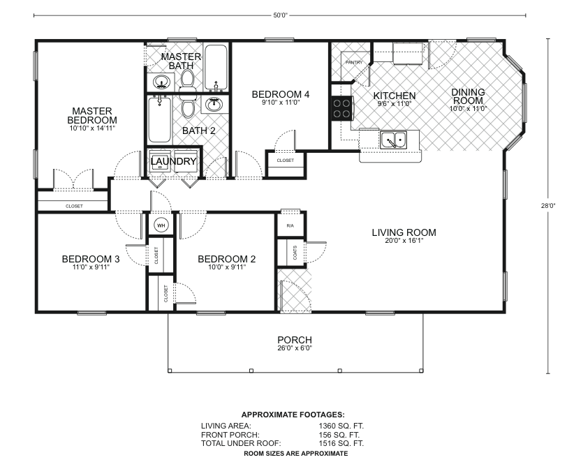 San marcos c floor plans southwest homes for Southwest homes floor plans